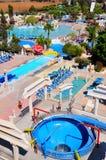 WaterWorld Waterpark. In Ayia Napa, Cyprus Royalty Free Stock Image