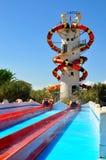 WaterWorld Waterpark. In Ayia Napa, Cyprus Royalty Free Stock Photography