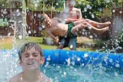 Watery mayhem Royalty Free Stock Images