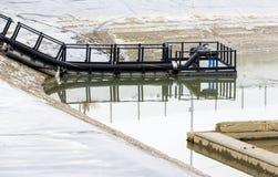 Waterzuiveringsinstallatie Stock Fotografie