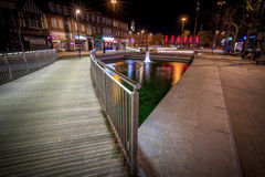 Watford pond. By night Stock Photography