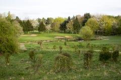 Wath-Golfplatz stockfotos