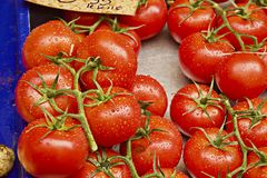 Some fresh red tomatoes. Wath a some fresh red tomatoes from market Royalty Free Stock Images