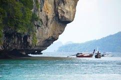 Wating bij Kra-Bi Thailand Stock Fotografie
