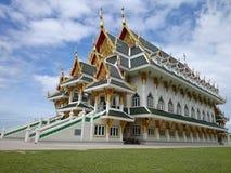 WatKhunInthapramun. Temple travel building Thailand stock photo