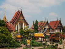 Watkingkeaw(Thai temple) Royalty Free Stock Images