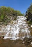 Watkins幽谷瀑布 库存照片