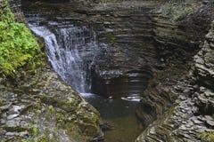 Watkins Glen, κρατικό πάρκο της Νέας Υόρκης στοκ εικόνα με δικαίωμα ελεύθερης χρήσης