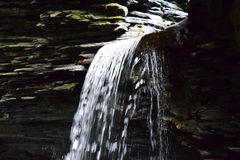 Watkins Glen, κρατικό πάρκο της Νέας Υόρκης στοκ φωτογραφία