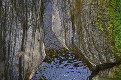 Watkins Glen, κρατικό πάρκο της Νέας Υόρκης Στοκ Εικόνα
