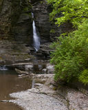 Watkins Glen Central Cascade Royalty Free Stock Photos