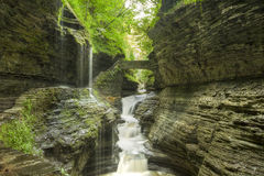 Watkins Glen Gorge Foto de Stock Royalty Free