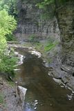 Watkins Glen Gorge Stock Photo