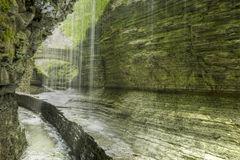 Watkins Glen Gorge Royalty Free Stock Images