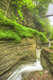 Watkins Glen Gorge Royalty Free Stock Image