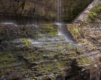 Watkins Glen Rainbow Falls Royalty Free Stock Image