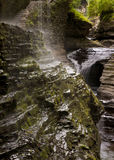 Watkins Glen Rainbow Falls Royalty Free Stock Photography