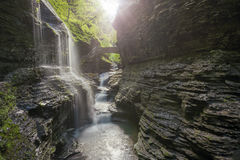 Watkins Glen State Park New York Fotografie Stock