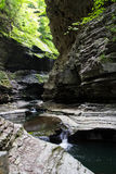Watkins Glen State Park Stream 2 Fotografia Stock Libera da Diritti