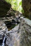 Watkins Glen State Park Stream 3 Fotografia Stock