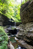 Watkins Glen State Park Stream 5 Fotografia Stock
