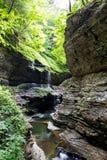 Watkins Glen State Park Stream 5 Stock Photo