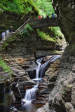 Watkins Glen Waterfall Stock Photos