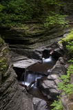 Watkins Glen Waterfall Stock Photo
