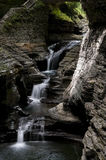 Watkins Glen Waterfall Stock Image