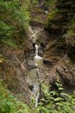 Watkins Glen Waterfall Royalty Free Stock Photo