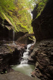 Watkins Glen Waterfall Stock Photo