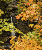 Watkins Glen Waterfalls Image stock
