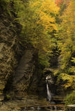 Watkins Glen Waterfalls Photographie stock libre de droits