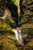 Watkins Glen Waterfalls Arkivbild