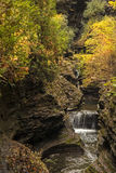 Watkins Glen Waterfalls Royalty Free Stock Images