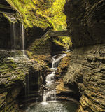 Watkins Glen Waterfalls Royalty Free Stock Photos