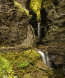Watkins Glen Waterfalls Royalty Free Stock Image
