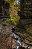 Watkins Glen Waterfalls Royalty Free Stock Photography
