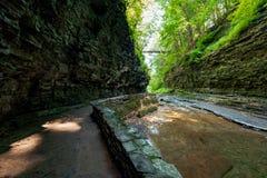 Watkins Schlucht-Nationalpark stockfotos