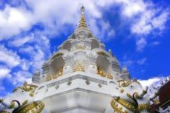 Watklangwiang Stupa, Chiang Rai, Thaïlande Photo libre de droits