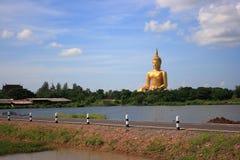 Watmuang angthong Thailand Aziatisch Azië Stock Foto's