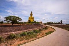 WatMuang AngThong Thailand. Big buddha Royalty Free Stock Images