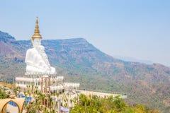 Watpha sorn kaew, Boeddhistische klooster en tempel in Khao Kor, Ph Stock Afbeeldingen