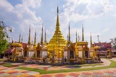 Watphatadbantak, phraborommathat de Tak d'interdiction de Wat Images stock