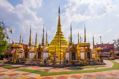 Watphatadbantak,Wat ban Tak phraborommathat. Wat ban Tak phraborommathat also appear in stone from me of PHO Khun Ramkhamhaeng, who makes war won the battle Stock Images