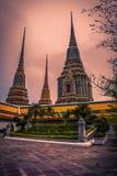 Watpho塔在泰国 库存图片