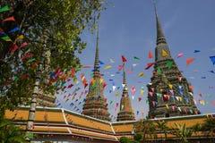 Watpho pagoder Arkivbilder