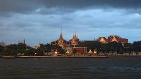 WatPhraKaeo. Temple place dusk light royalty free stock images