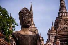 Watphrasisanpetch a Ayutthaya Fotografia Stock Libera da Diritti