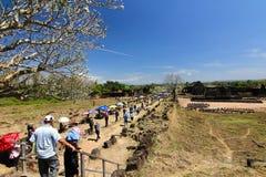 watphutempel in pakse Laos royalty-vrije stock afbeelding